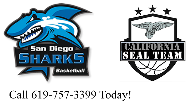 San Diego Sharks Basketball Club Logo